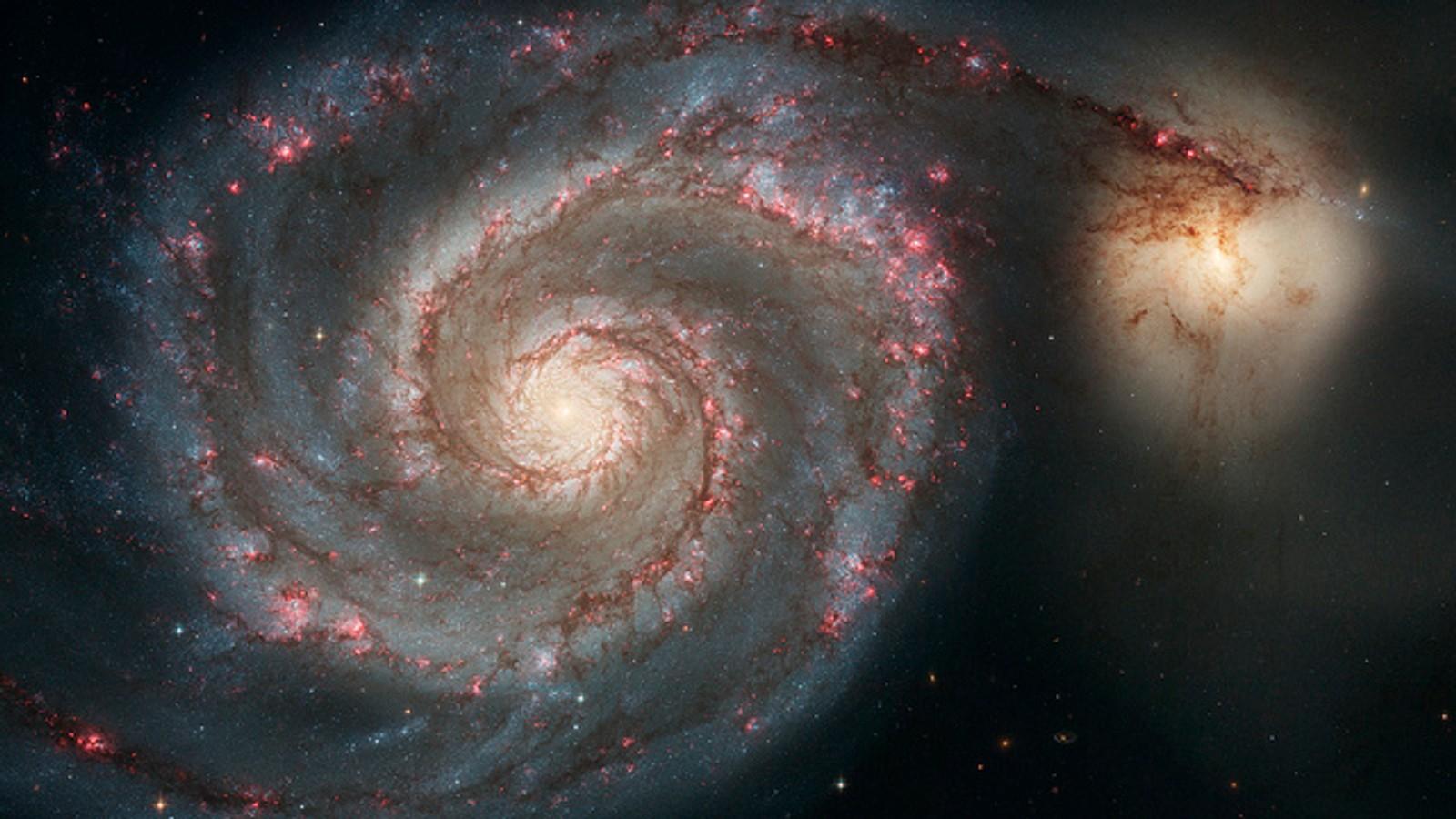 Galaksen M51 (NGC 5194).