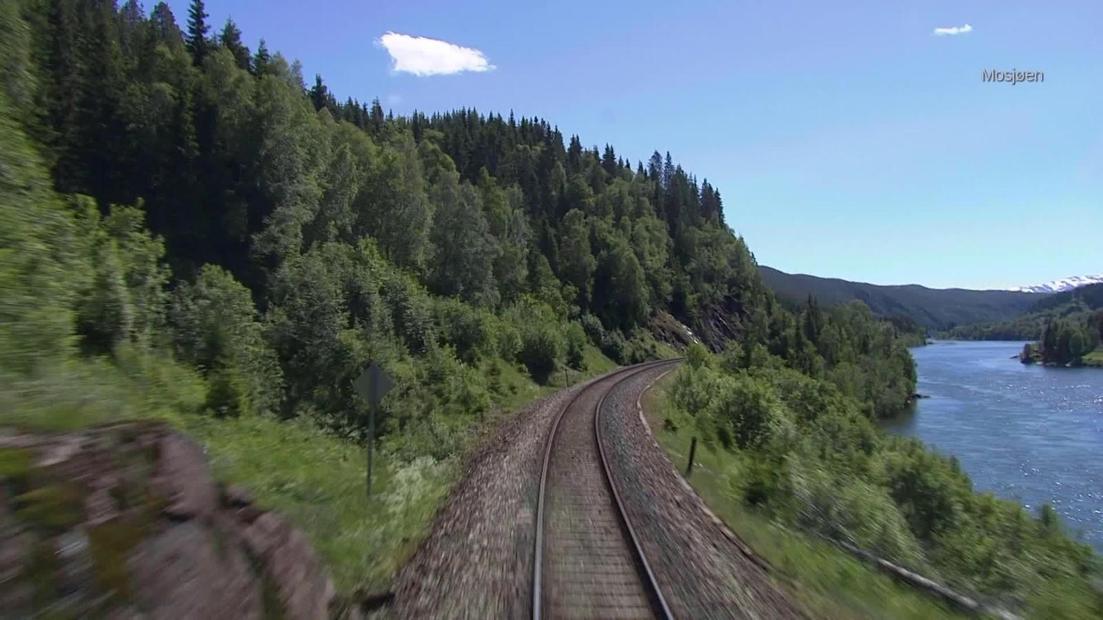 På vei gjennom Helgeland.