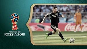 Fotball - VM: Argentina - Kroatia