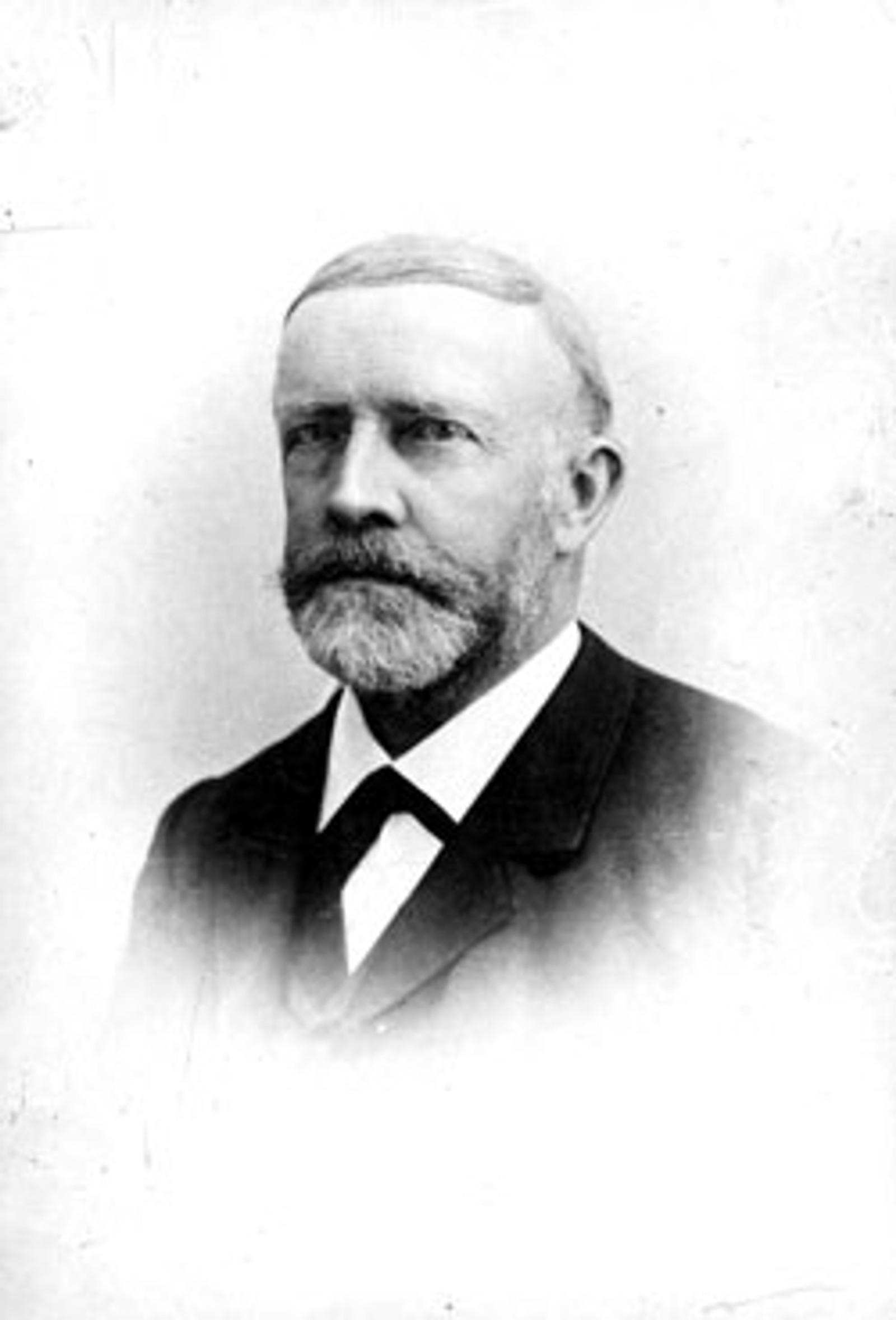 Portrett av Carl Fredrik Isaachsen (overtok i 1876).
