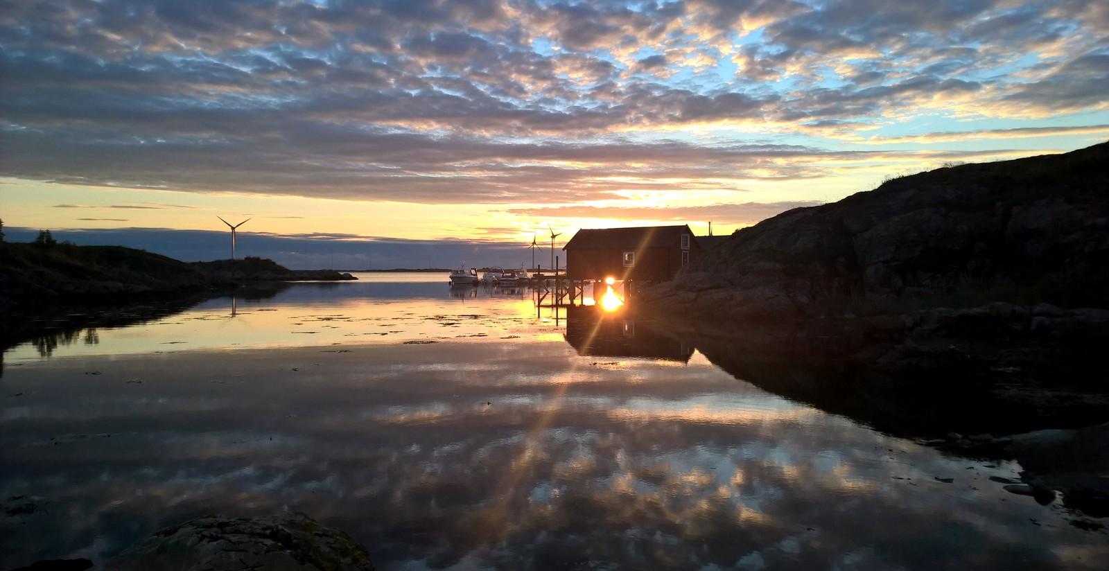 Valsfjorden i Bjugn