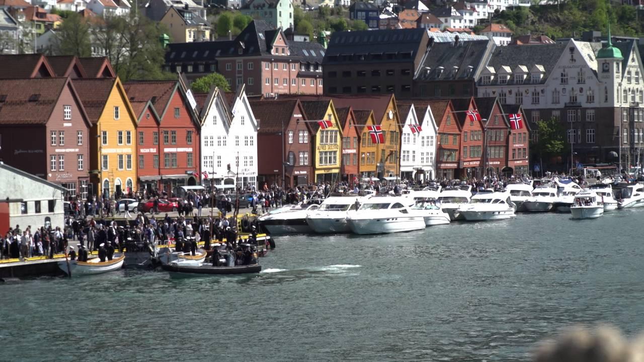 Folk i Bergen på 17. mai