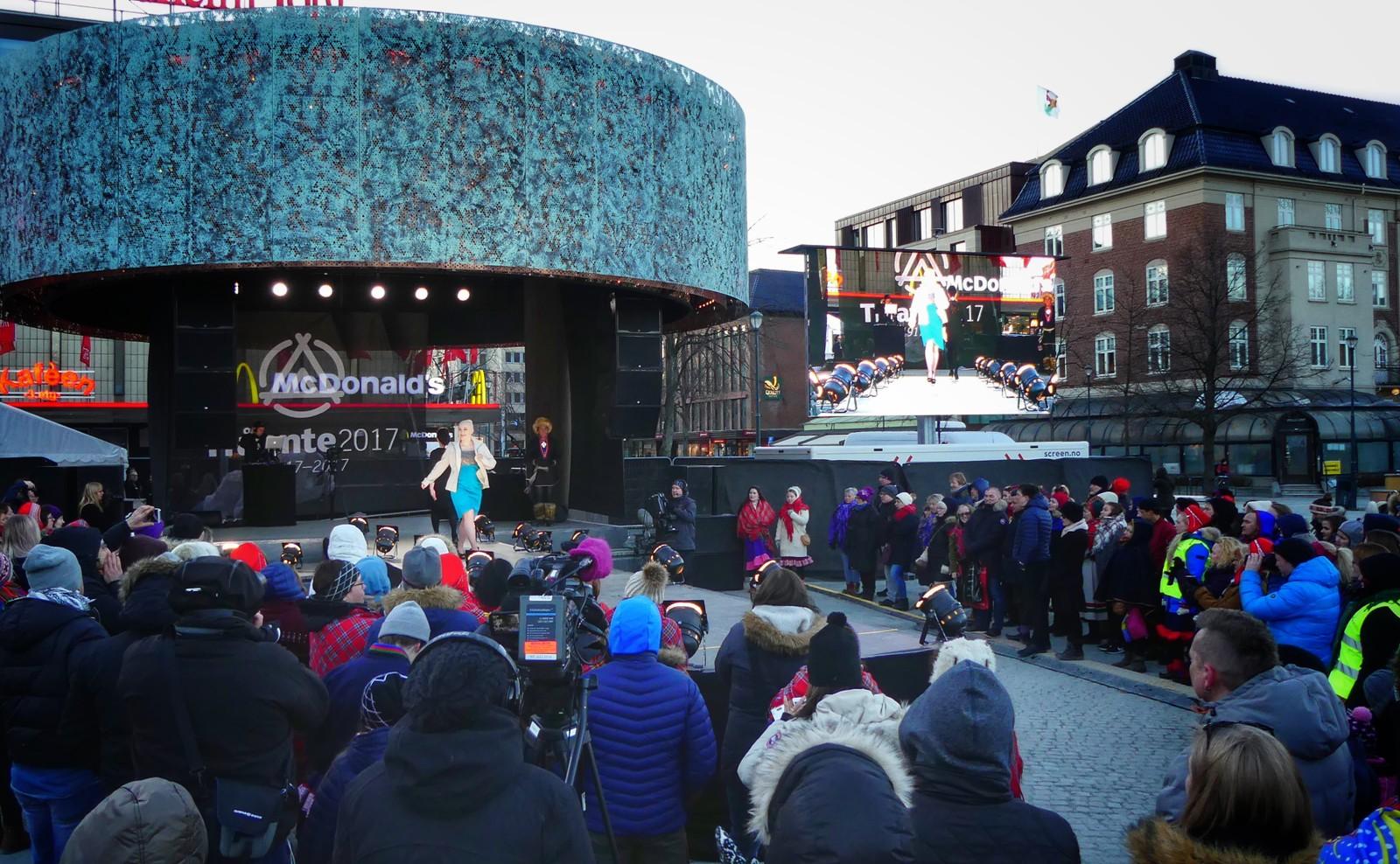 Samisk jubileumsuke i Trondheim.