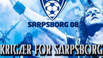 """Åge Sten Nilsen med Ammunition - """"Krigær for Sarpsborg"""" er Sarpsborg 08s offisielle cupfinale-sang."""