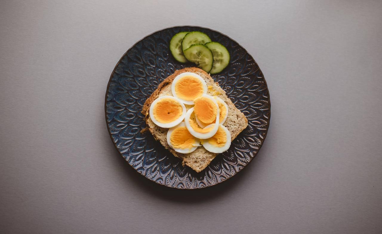 Egg på brødskive