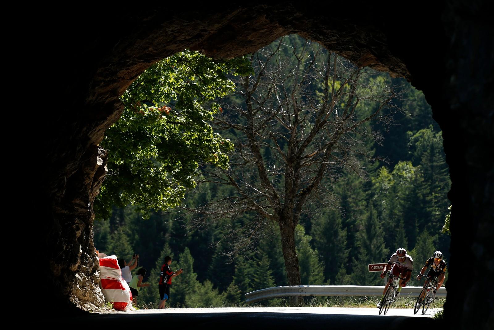 Tour de France er et av verdens vakreste idrettsarrangementer. REUTERS/Benoit Tessier