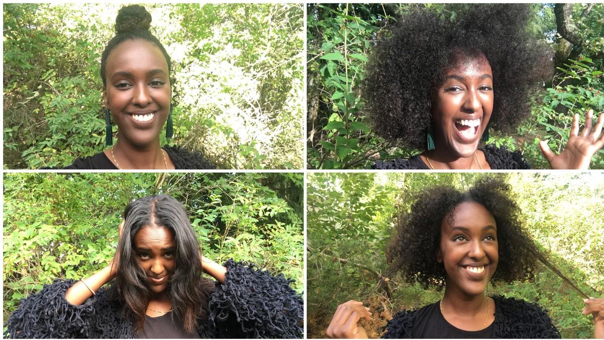 Svart hrete afrikanske kvinner