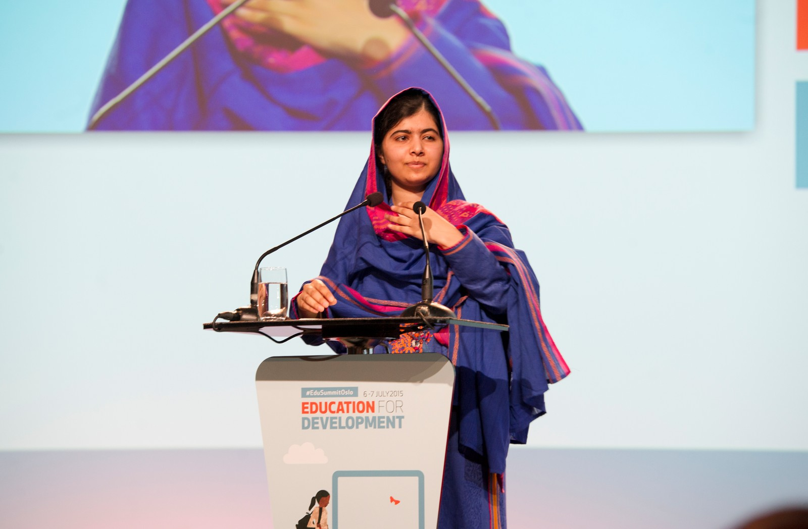 Malala vil at 12 års skulegang skal bli obligatorisk for alle barn.