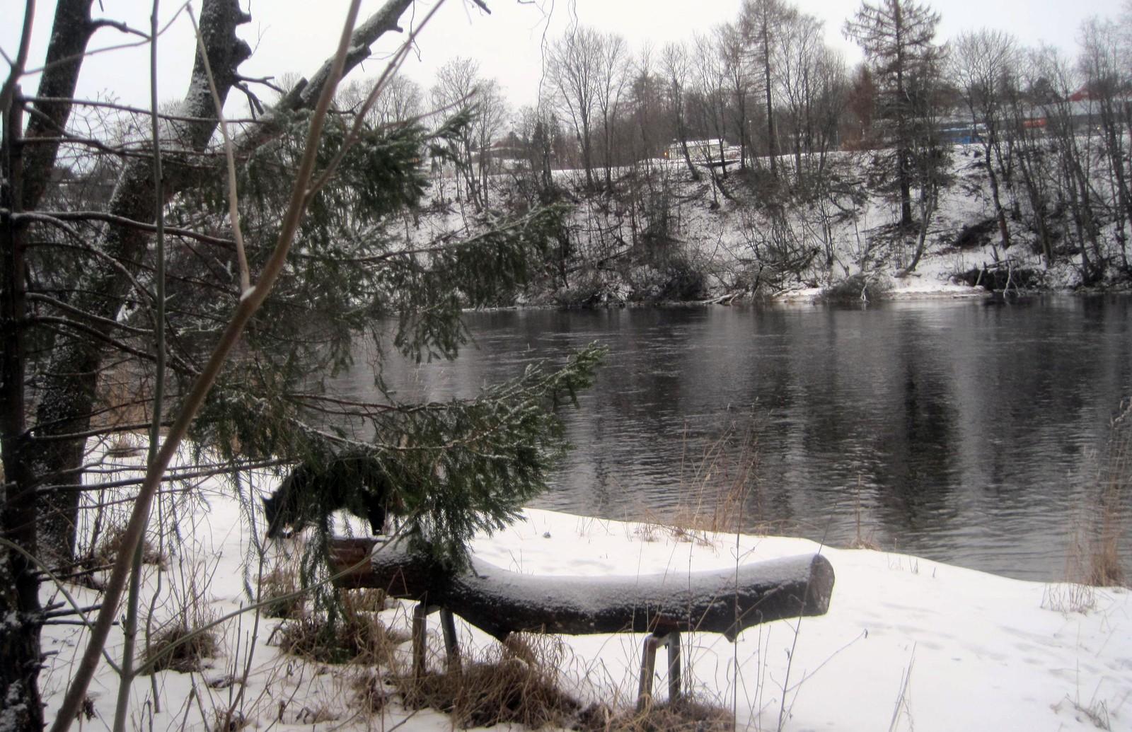 Vinter ved Nidelva, på Tilfredshet