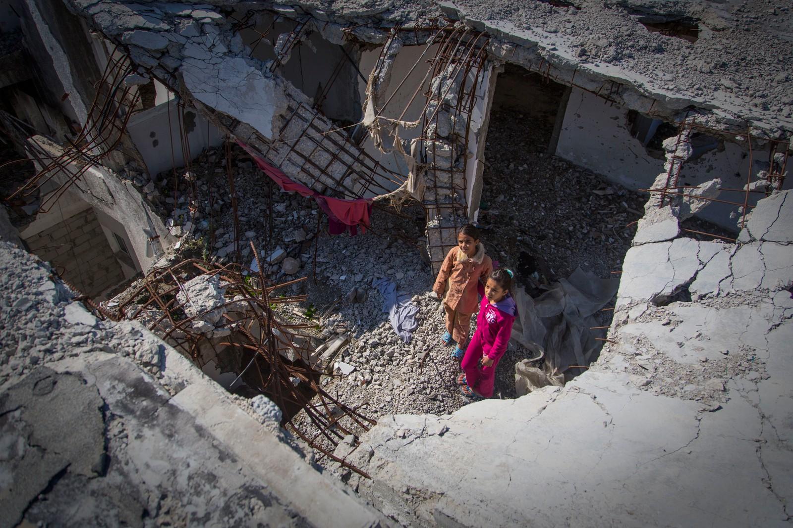 Mange opplevde å få hjemmene ødelagt under krigen mellom Hamas og Israel. Fortsatt gjenstår det mye før de er gjennoppbygd.