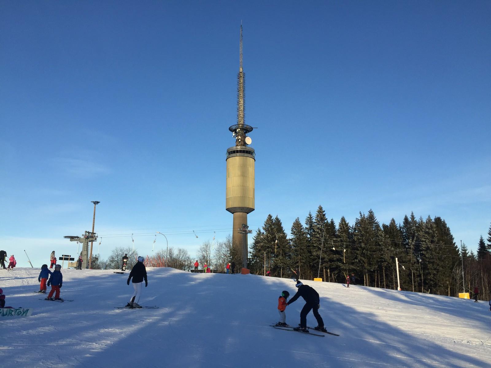 På Oslos tak: Tryvannstårnet ligger på toppen av Tryvannshøgda og skisenteret.