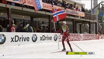 Video Emil vant årets siste renn