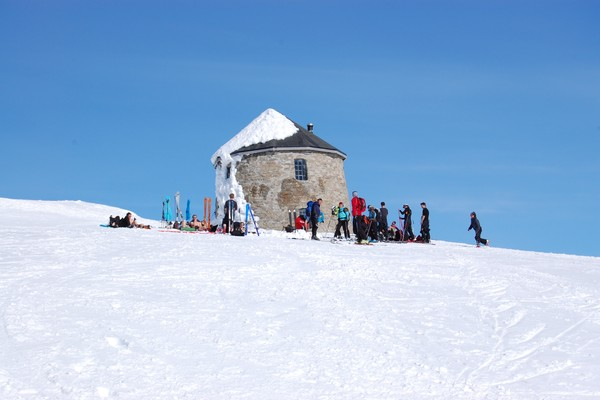 Skålatårnet 1843 moh  -  Foto: Thomas Hisdal