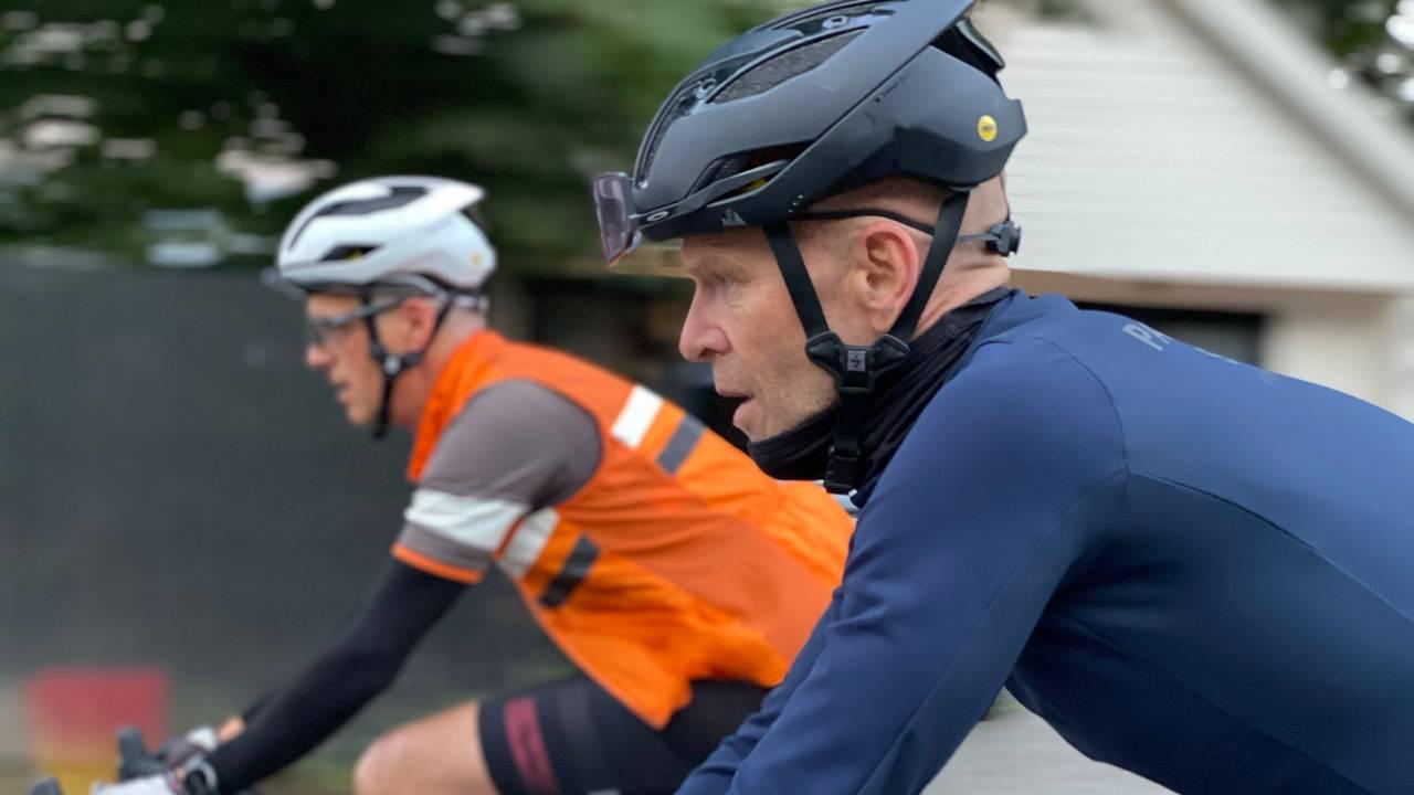 Sykling har blitt som terapi for Lars Erik Lund.