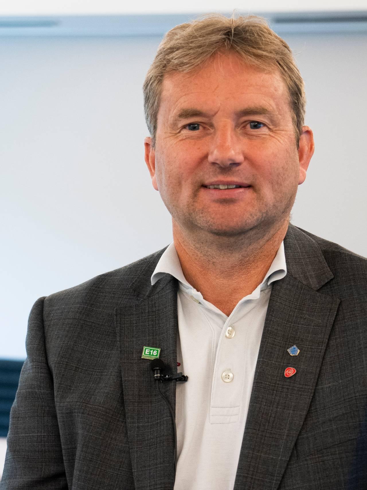Ordfører i Vang, Vidar Eltun.