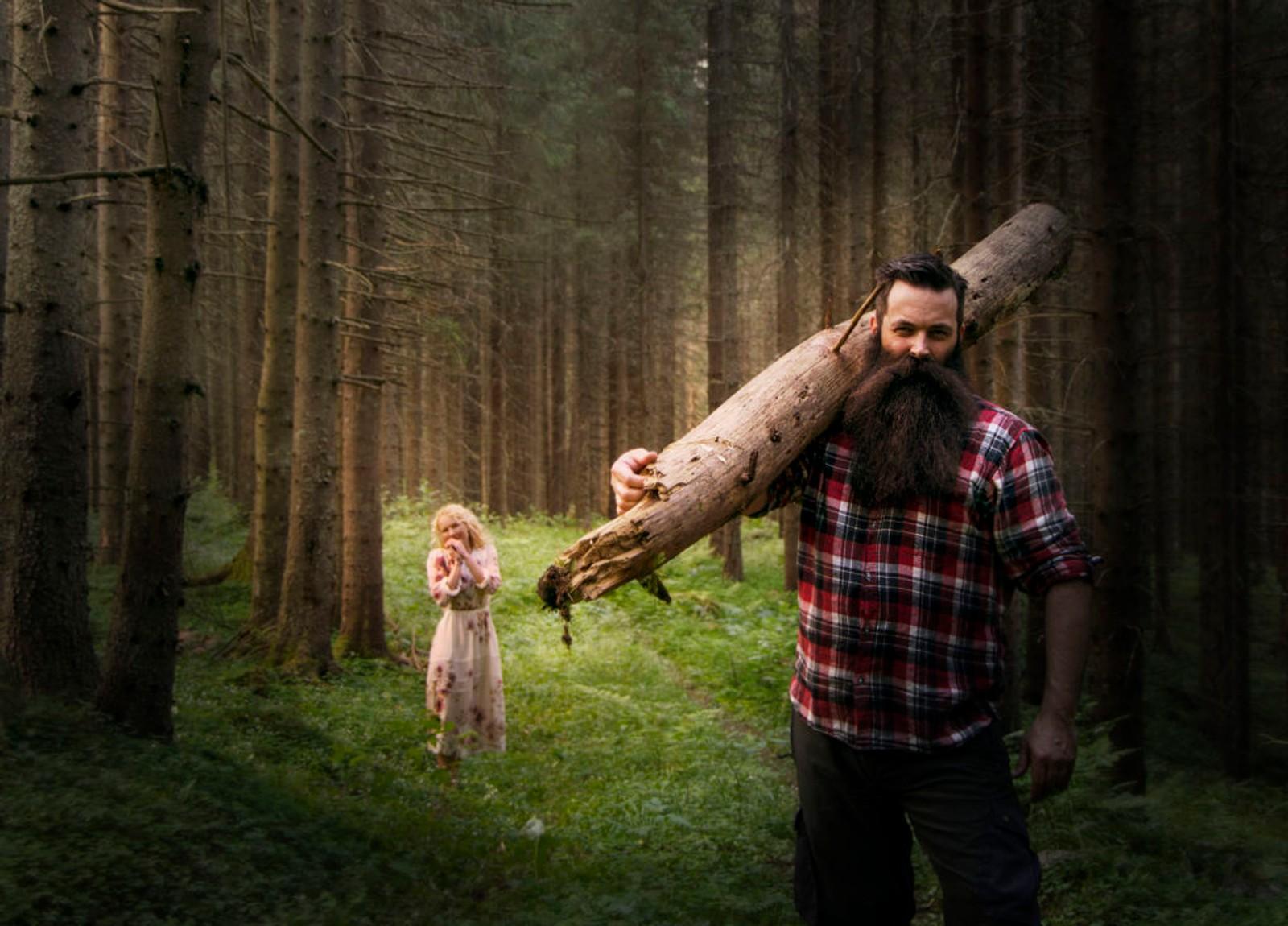 """KAN HAN VINNE VM? Nils håper en dag å kunne kalle seg """"Mannen med verdens beste skjegg""""."""