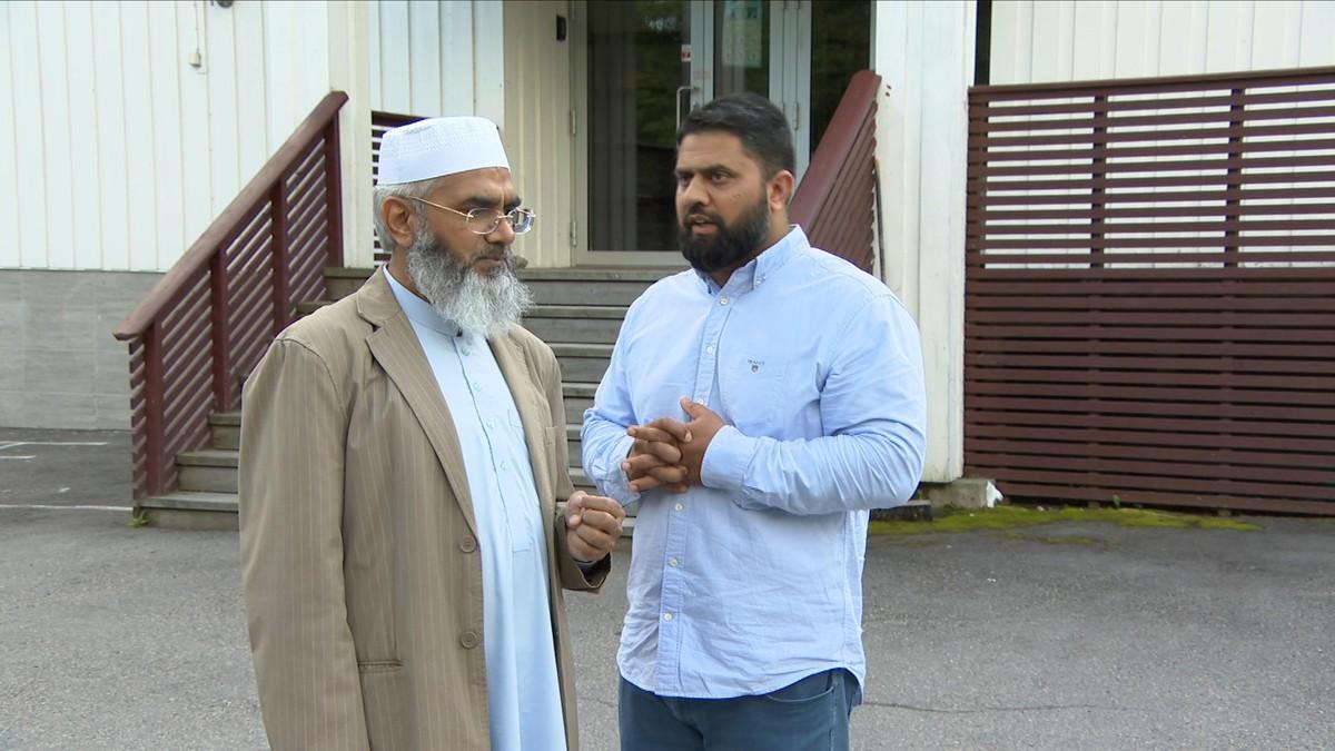 Terror-rammet moské ønsker å møte siktedes familie
