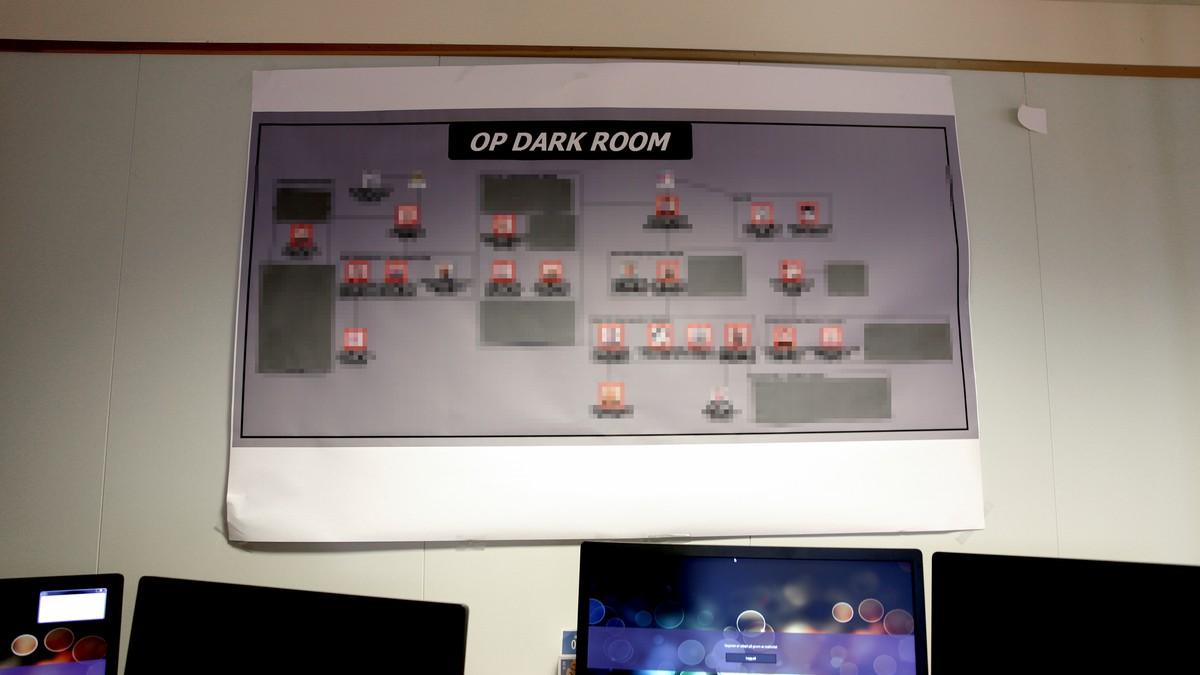 erotiske operasjon dark room