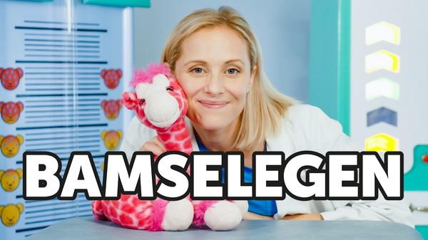 Har bamsen din blitt syk? Bamselege Charlotte og hennes lettskremte hjelper Gilbert tar saken.
