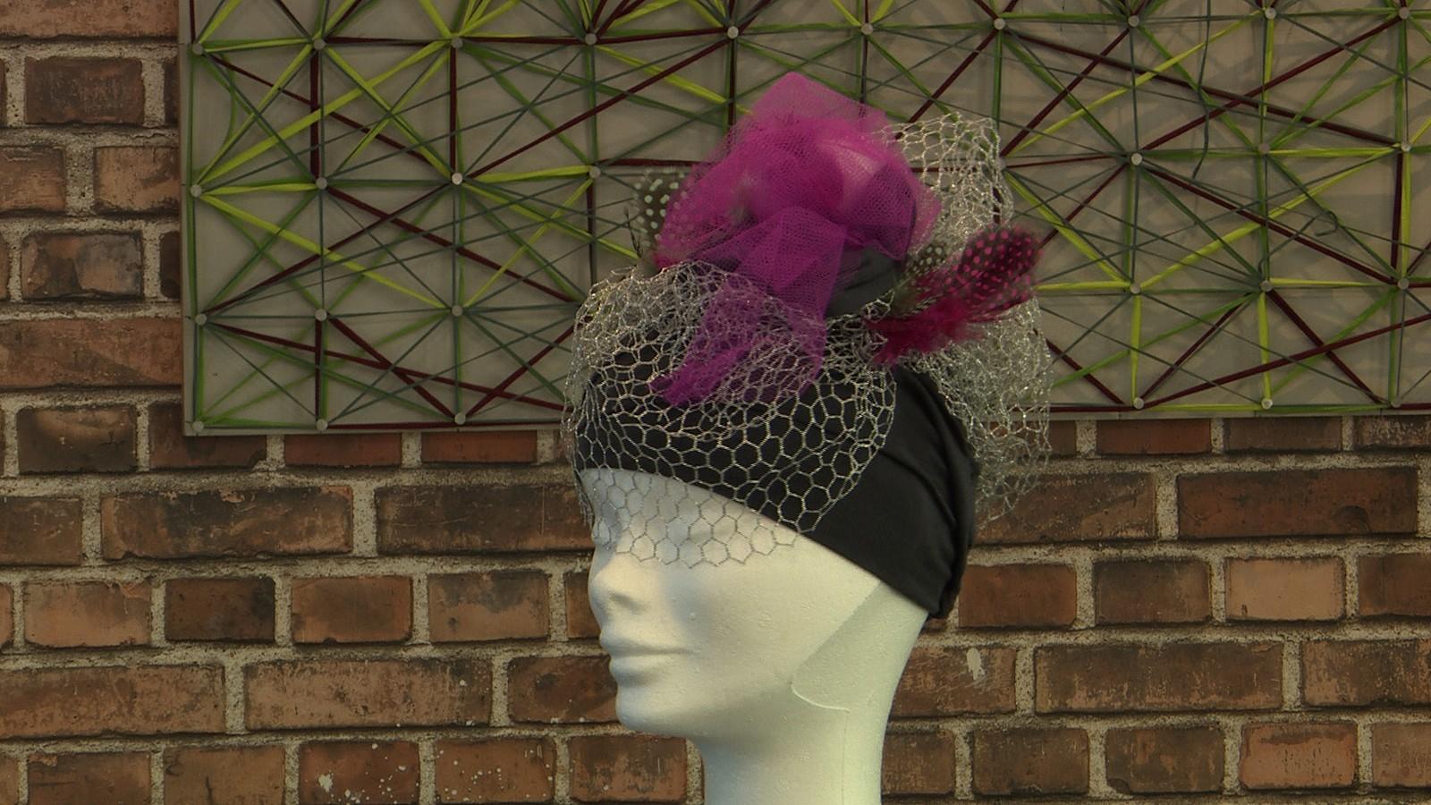 Anne Lyth sin hatt.
