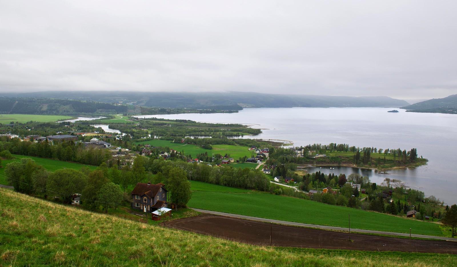 09.09 Utsikt over Selbusjøen
