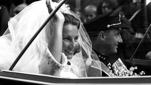H.K.H. kronprins Harald og frøken Sonja Haraldsens bryluup