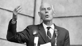 Statsminister Einar Gerhardsen