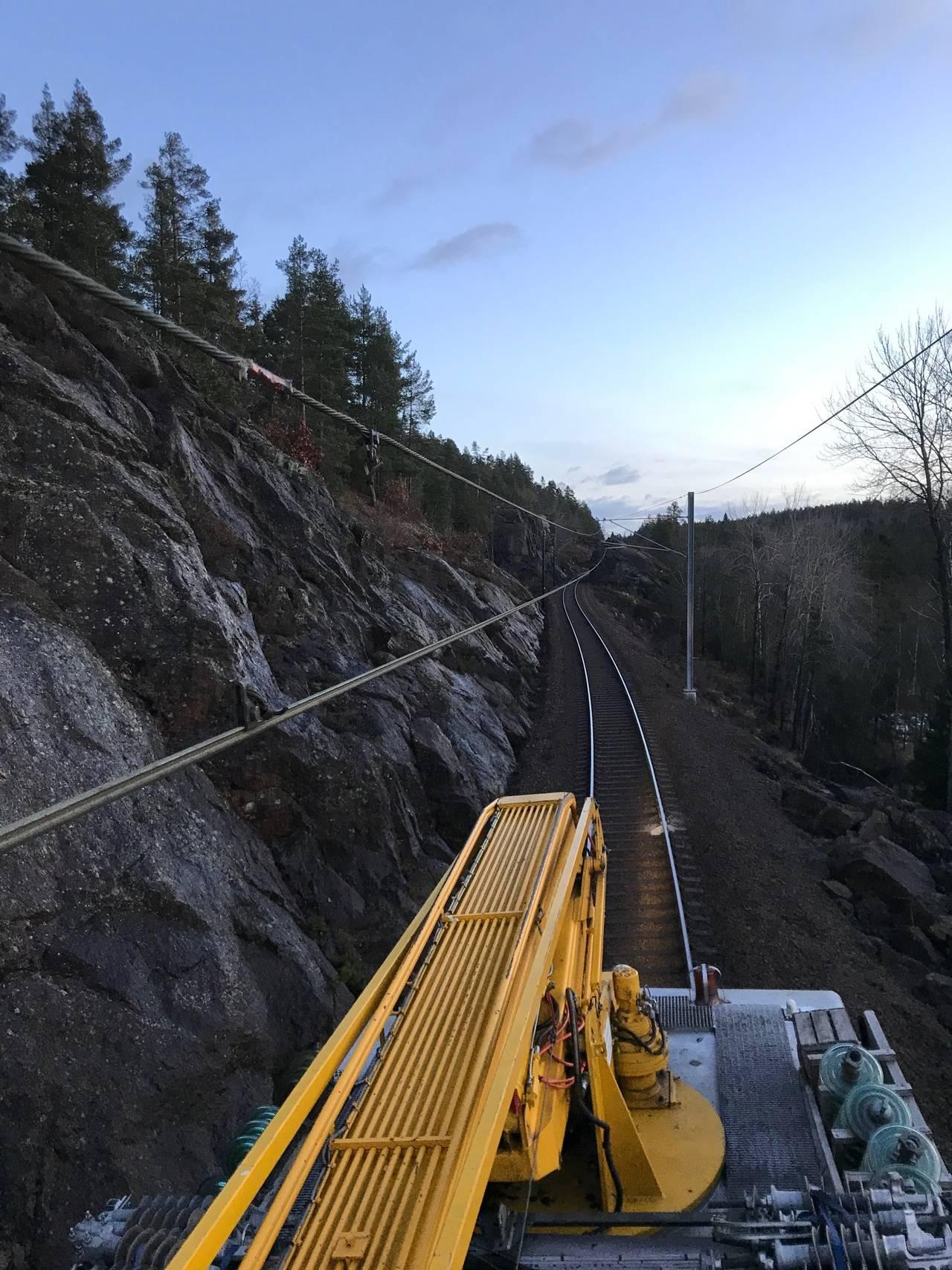 utbedring av jernbanen gjerstad-vegårshei