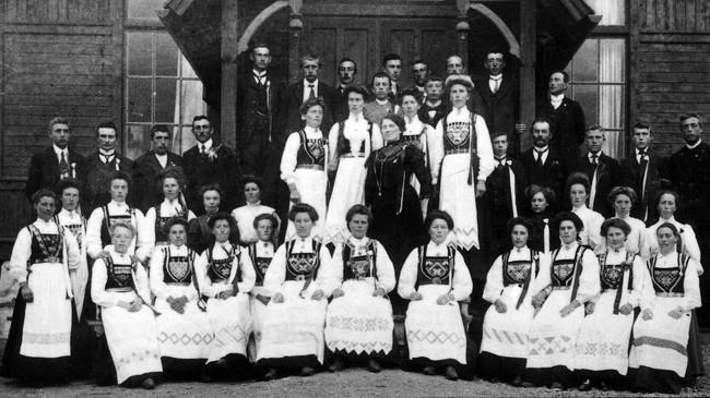 Holmedal Songlag i 1911.