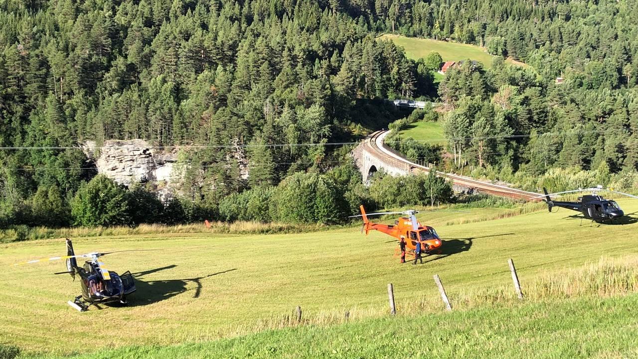 Helikopter på Verma