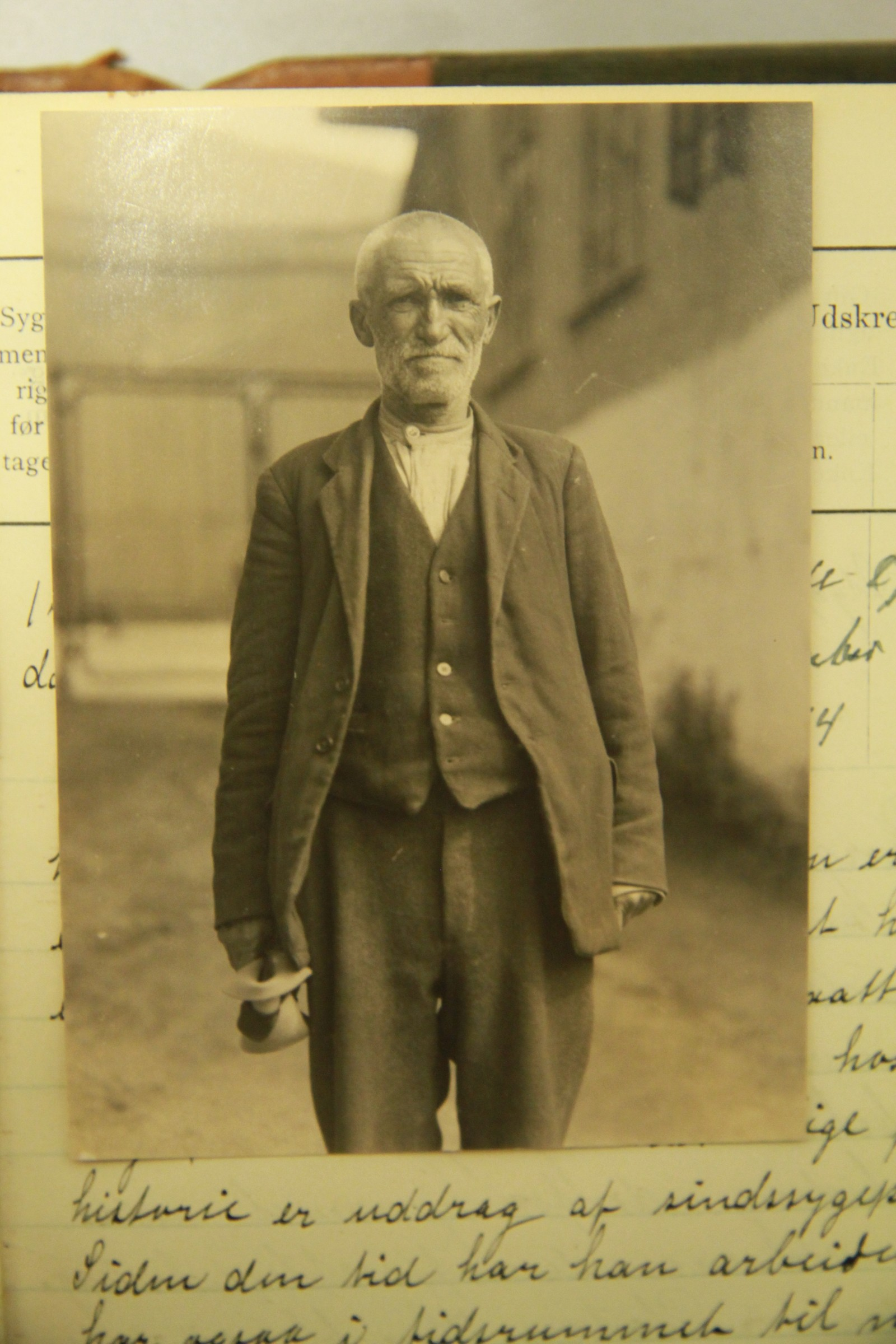 Pasient ved Møllendal asyl.