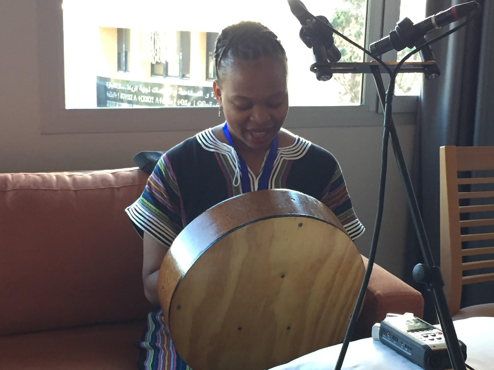 Session på hotellrom i Rabat i Marokko under Visa For Music 2016.