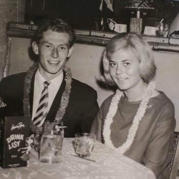 Svein Amundsen og Helga Bjelland på Hawaiian Room.