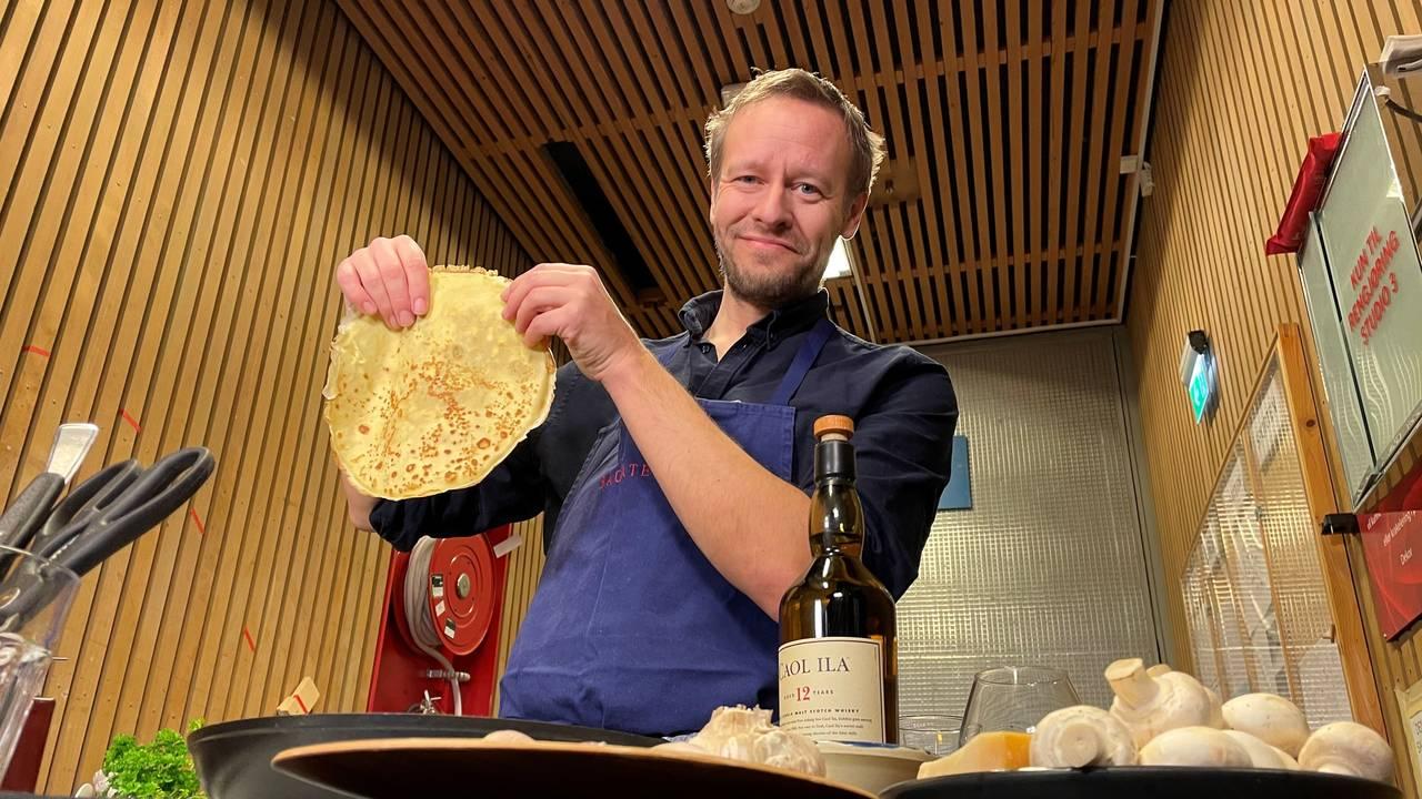 Christopher Sjuve lager Tix-pannebånd-pannekake