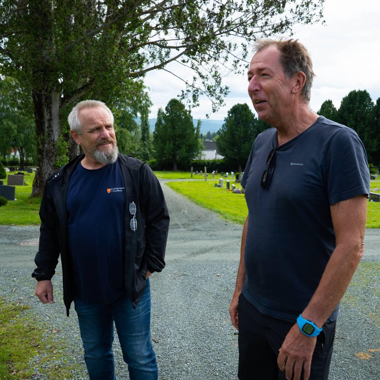 Kjetil Aa og Morten Jøntoft