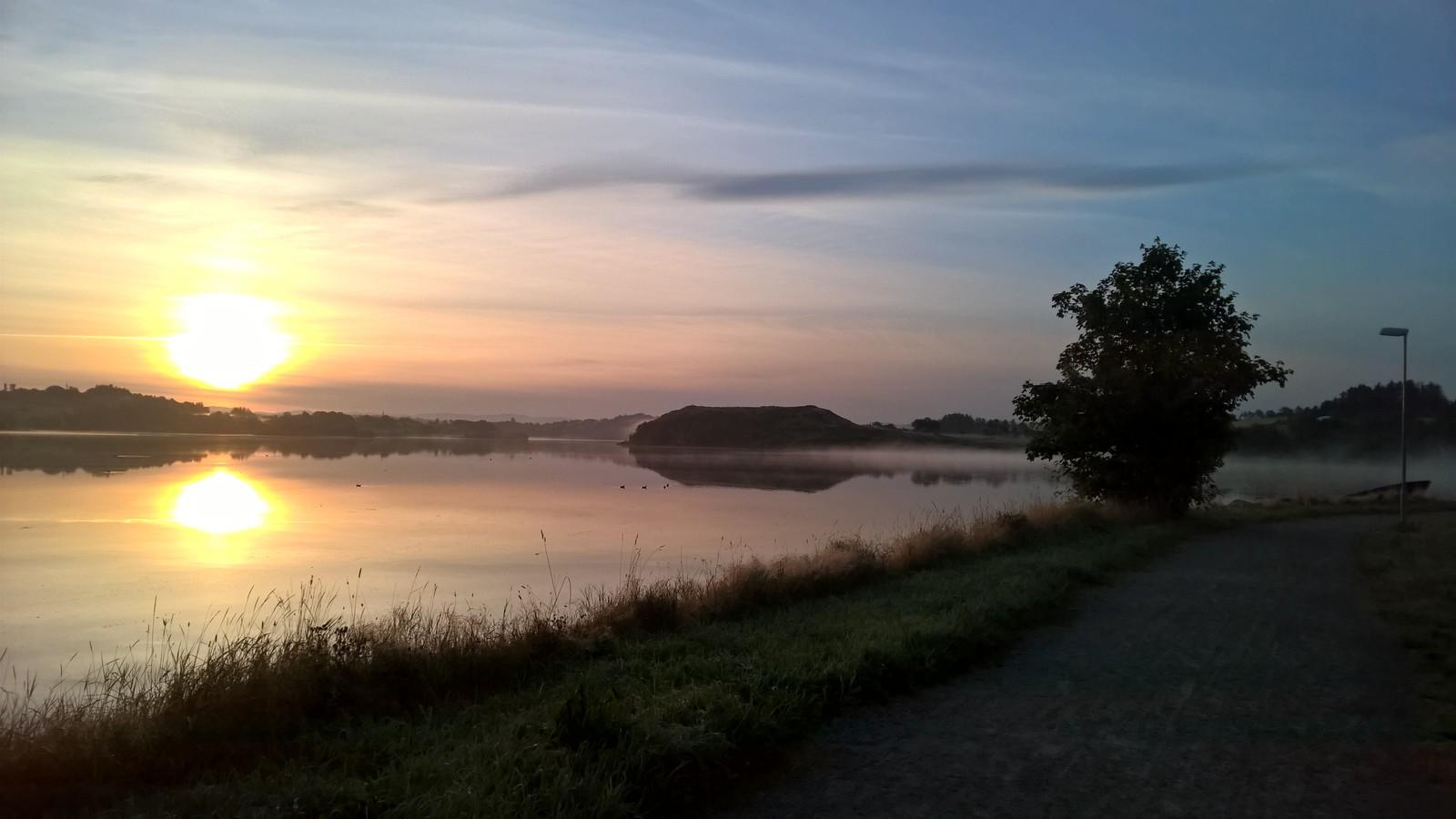 Hålandsvatnet i Randaberg og Stavanger.