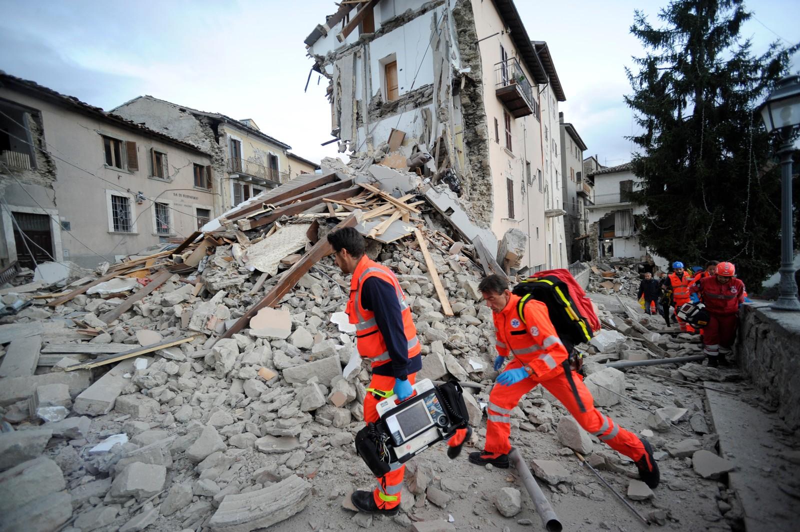 Jordskjelvet kunne merkes flere andre steder i Italia.