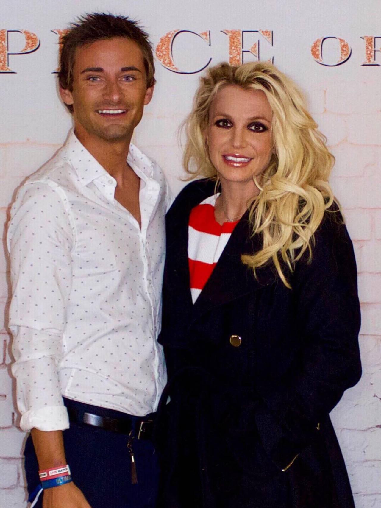 Britney Spears og Steffen Fonn.