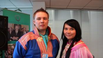 Tuomas Aslak Juuso og Laura-Maija Niittyvuopio