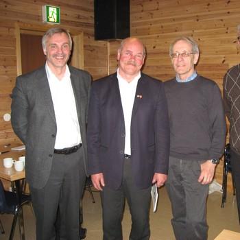 Ordfører i Tjeldsund, Evenes og Skånland
