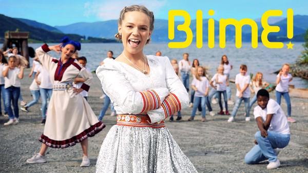Her får du den samiske BlimE-låta med Elin Oskal