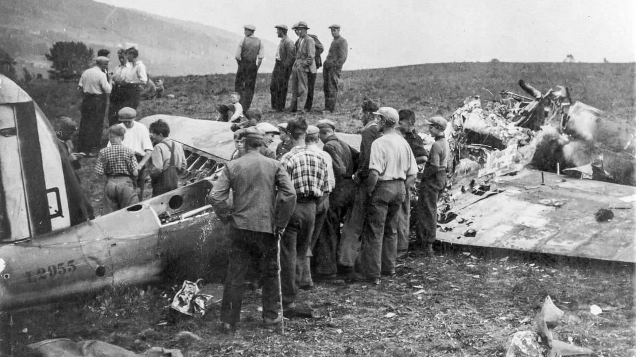 Flystyrt i Vagnildgrenda, Soknedal, 13. juni 1940
