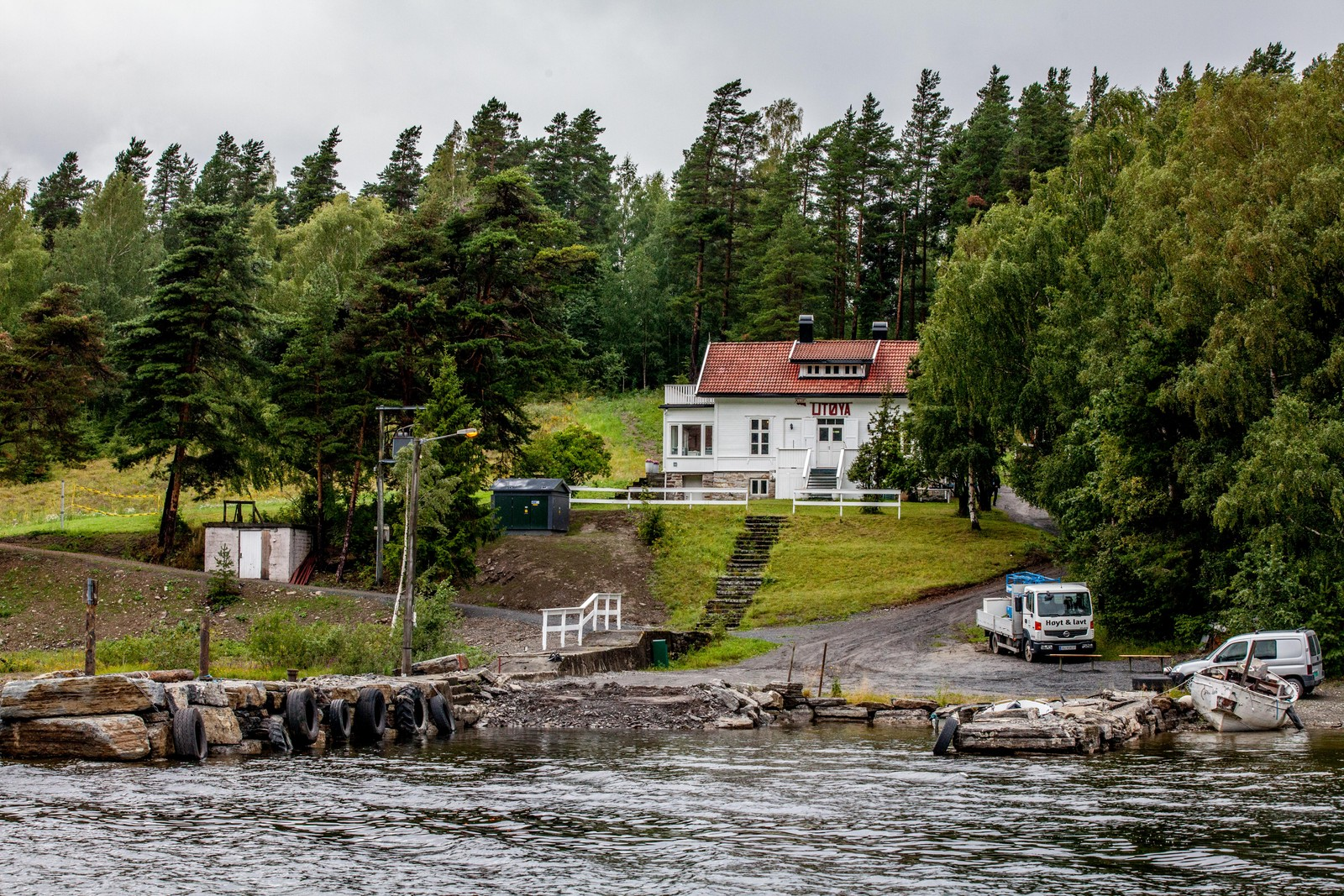 Det er første gang siden terrorangrepene 22. juli 2011 at det arrangeres leir på Utøya.