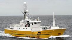 Banklinebåten Fjellmøy frå Vågsøy.