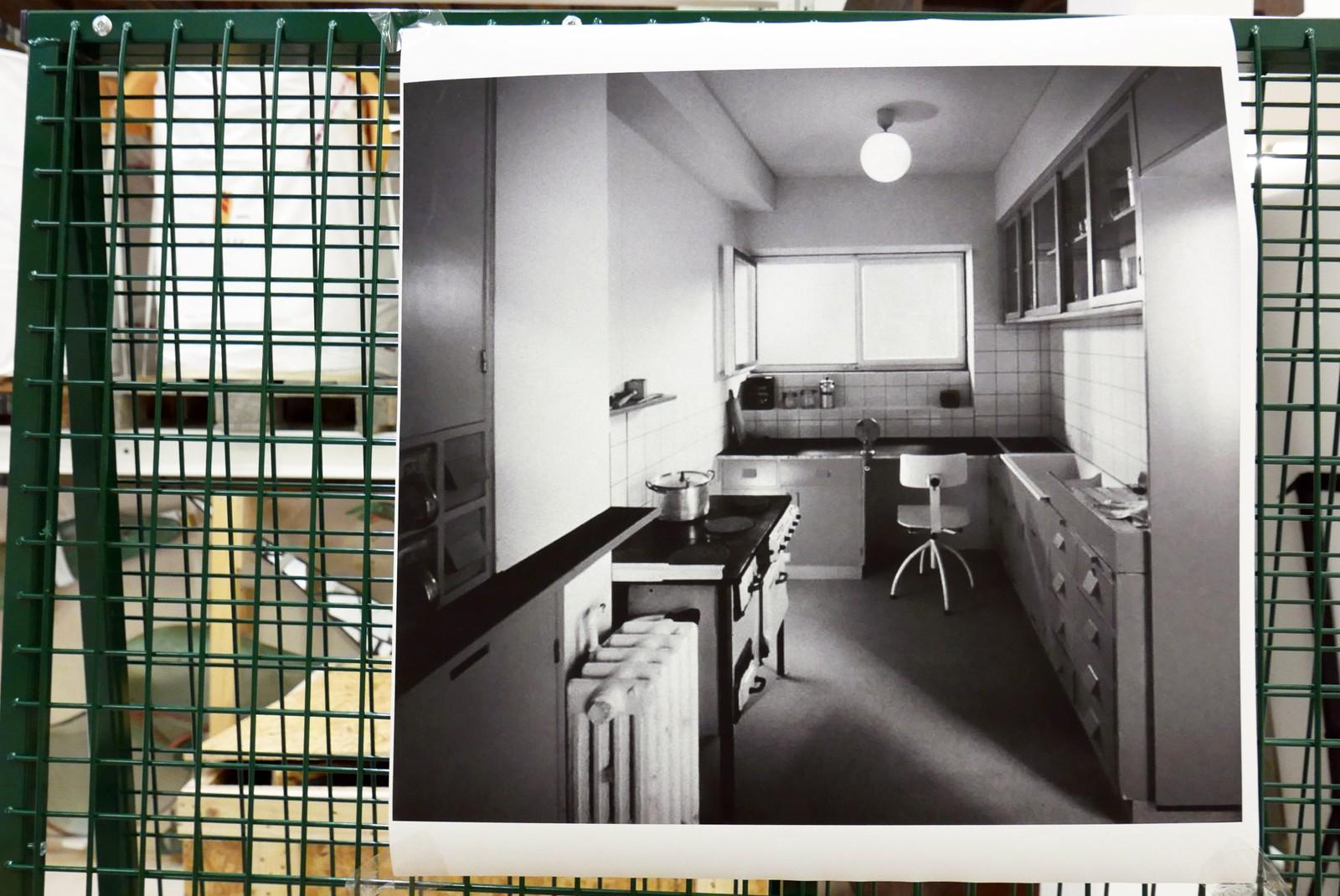 Når kjøkkenet er ferdig restaurert skal det bli omtrent sånn som du ser på fotografiet.