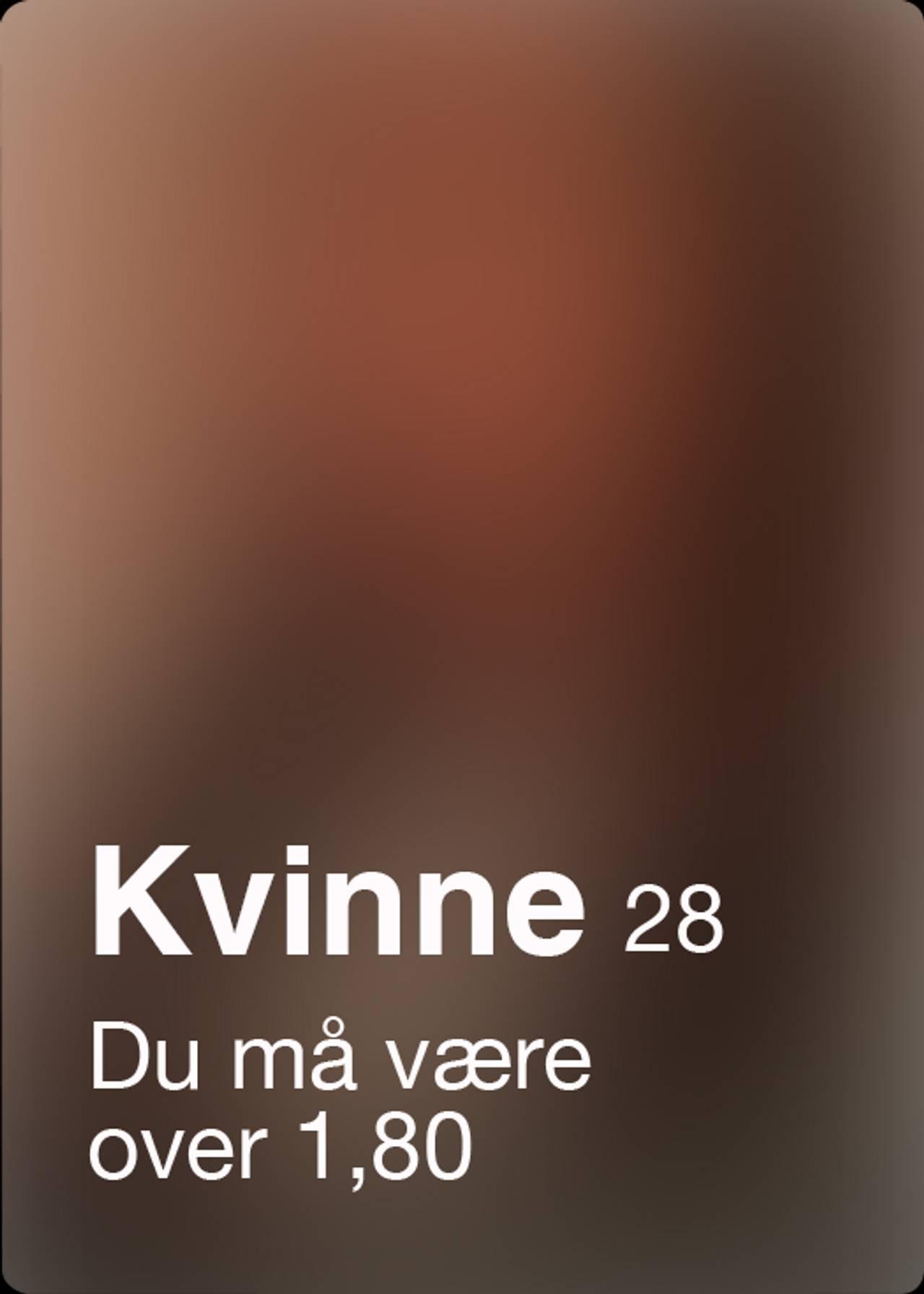 Tinder-profil med alderskrav - 9
