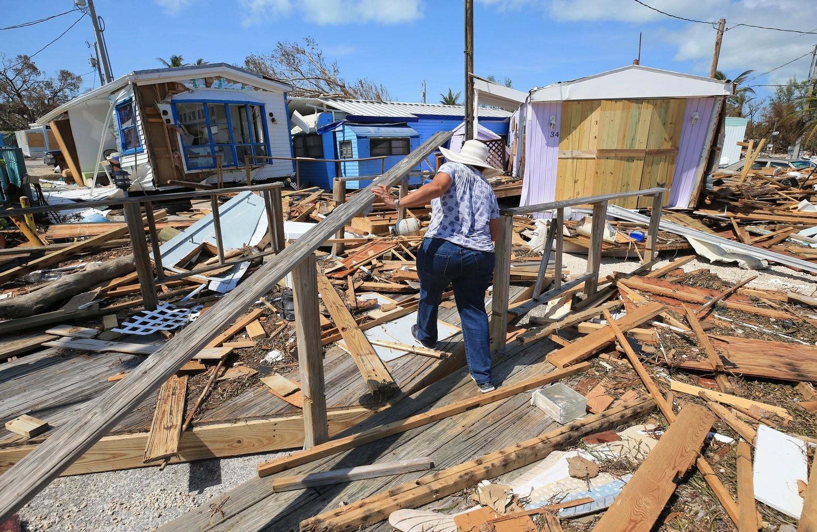 Store ødeleggelser i Florida.