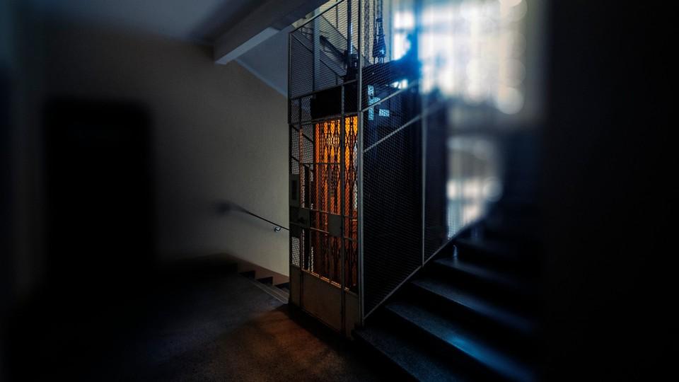 Heisen til 18. etasje