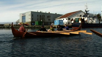 Video Rokurs for verdens største vikingskip