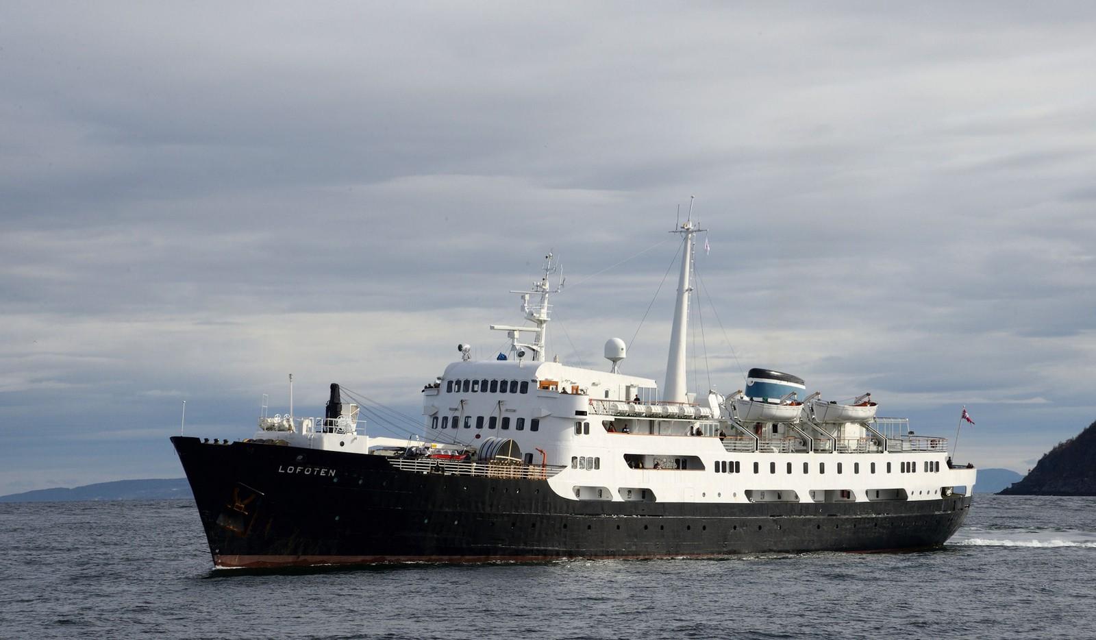 MS Lofoten på Trondheimsfjorden